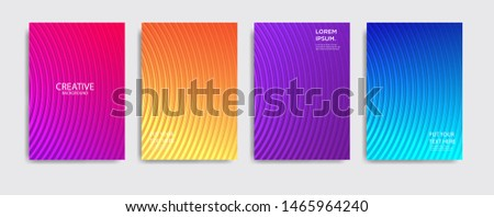 Minimal covers design. Colorful halftone gradients.background modern template design for web. Cool gradients. Future geometric patterns. Eps10