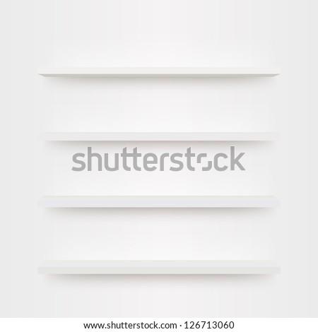 minimal 3d bookshelf design