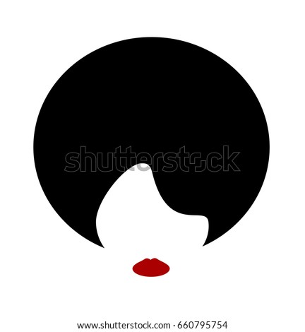 minimal design of woman with