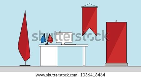 minimal flat flags rollup...