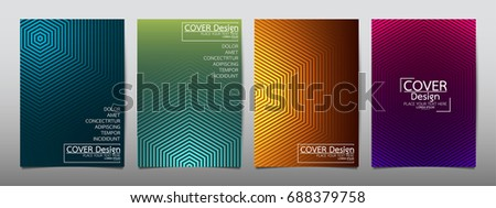 Minimal flyer cover business brochure vector design, Leaflet advertising abstract background, Modern poster magazine layout template, Annual report for presentation.