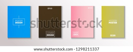 Minimal Futuristic Music Poster, Trendy Vector Cover Design. Green, Pink, Blue, Gray Geometric Blend Presentation, Notebook Print. Contrast Minimal Business Cover. Glam Clean Music Poster Template #1298211337