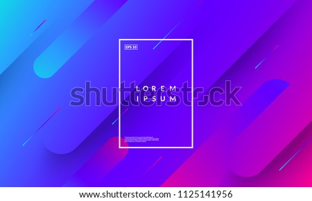 Minimal geometric background. Gradient shapes composition. Eps10 vector.
