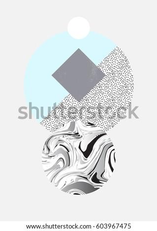 minimal geometric creative