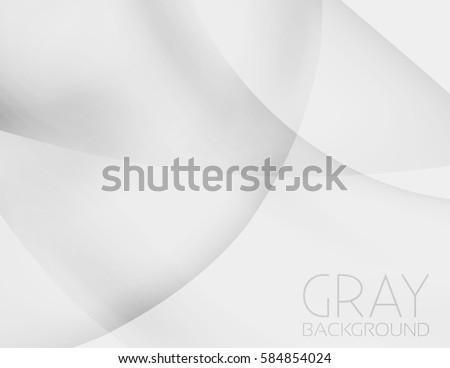 Minimal grey background. Simple vector graphic pattern