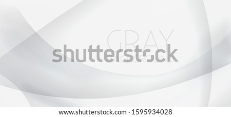 Minimal grey background. Simple vector graphic pattern with gray to white gradient Foto stock ©