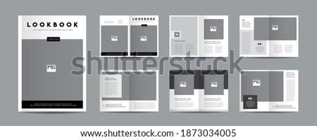 Minimal Magazine Design | Editorial Lookbook Layout | Fashion and Multipurpose portfolio | Photo Book Design