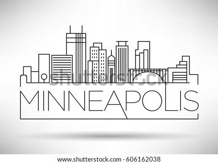 minimal minneapolis linear city
