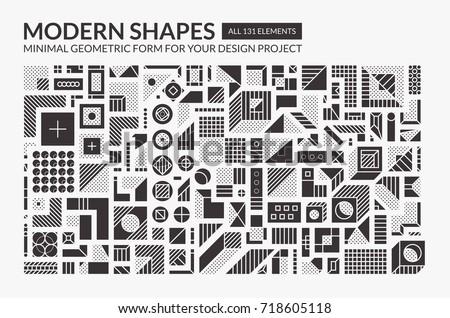 minimal modern shapes