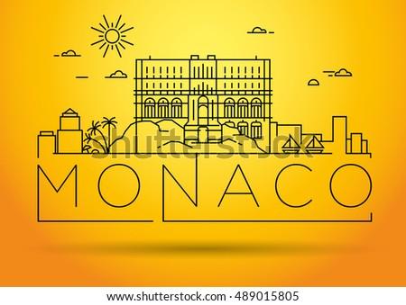 minimal monaco city linear
