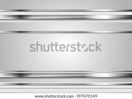 minimal tech metallic abstract