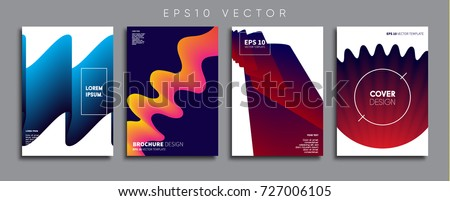 Minimal Vector cover designs. Future Poster templates. #727006105