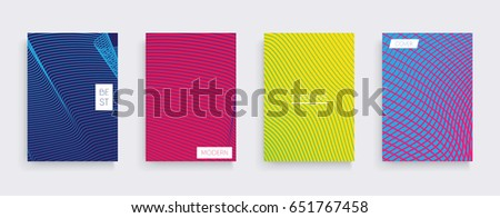 Minimal vector covers design. Cool gradients. Future geometric template. #651767458