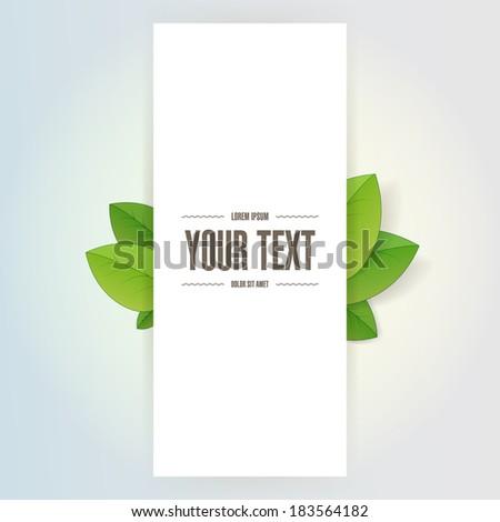 minimal white rectangle text