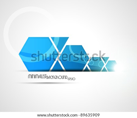 Minimalist background. Vector illustration.