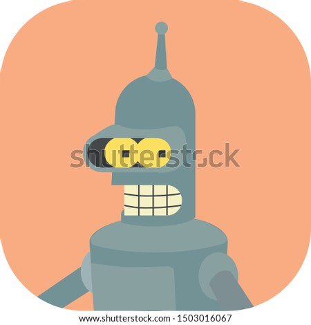 minimalist colorful bender on a