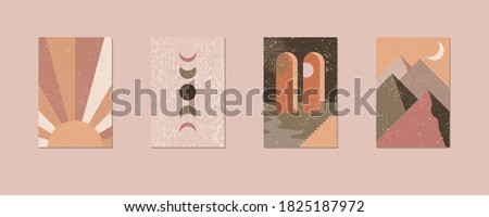 minimalist geometric wall art