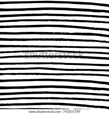 Minimalist horizontal stripes black and white background.