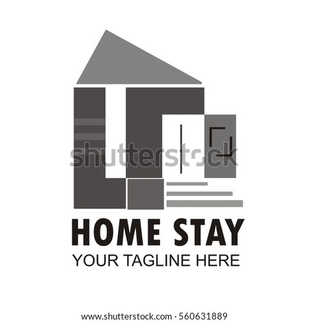Vector Images Illustrations And Cliparts Minimalist Luxury House