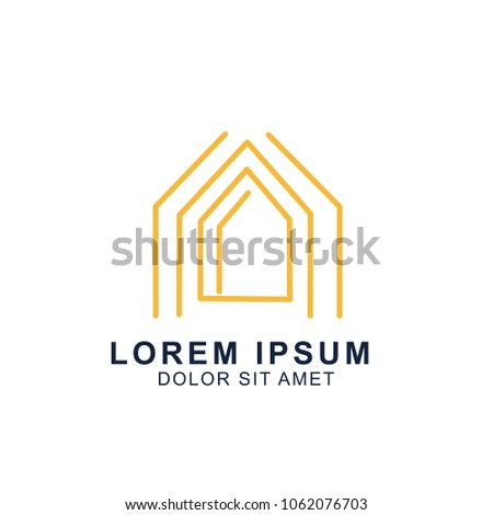 House Logo Design In Clean Minimal Style Download Free Vector Art