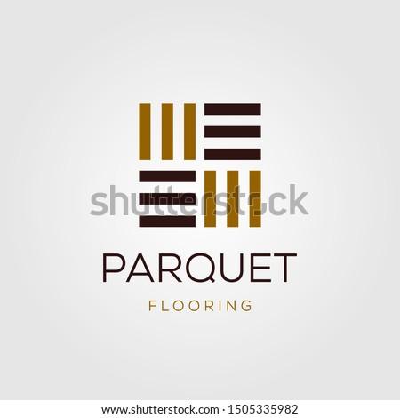 minimalist parquet flooring