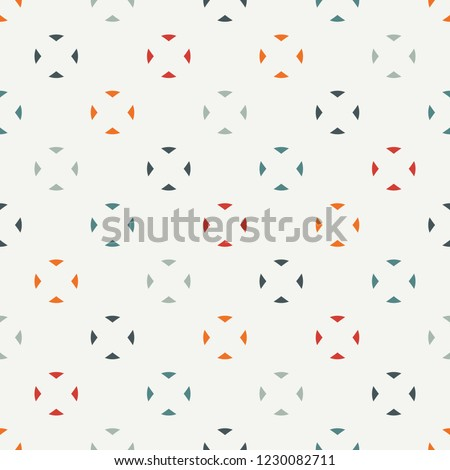 minimalist pattern repeated