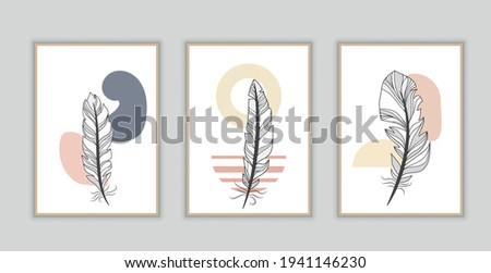minimalist wall art design