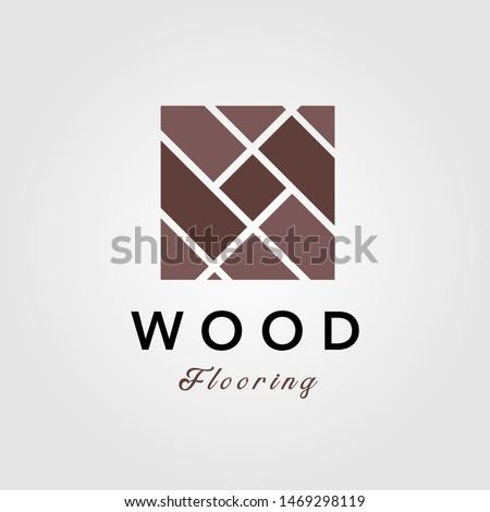 minimalist wood parquet