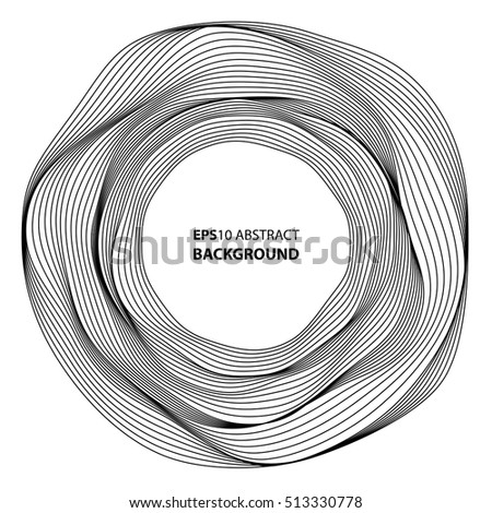 Minimalistic abstract background Eps 10 vector illustration for album music cover. Design element of many random circle with noise.