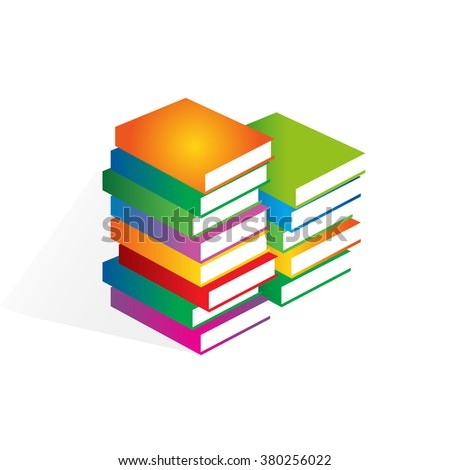 minimalistic book cover vector