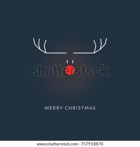 minimalistic funny christmas