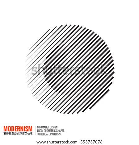 minimalistic geometric design