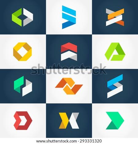 minimalistic geometric origami