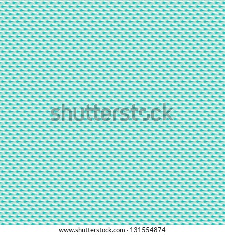 Minimalistic geometric seamless pattern with small blue abstract shapes. Vector background texture for website, wedding invitation, wrapping paper, modern textile for spring summer fashion.