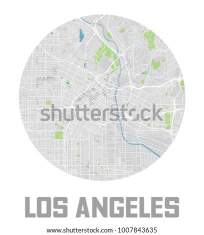 minimalistic los angeles city
