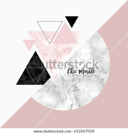 minimalistic marble modern