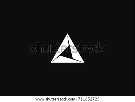minimalistic modern triangle