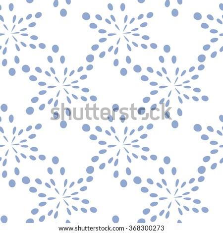 minimalistic retro pattern
