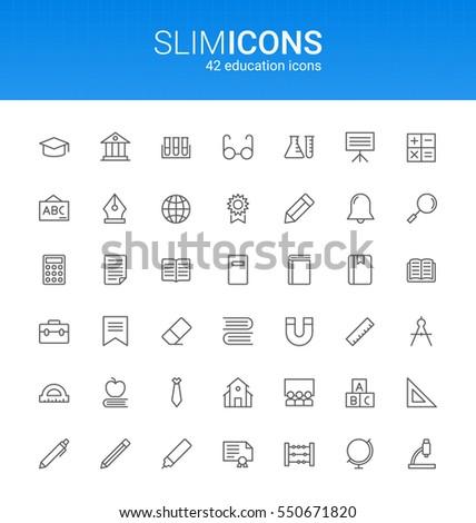 minimalistic slim line