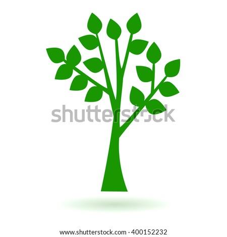 minimalistic tree icon