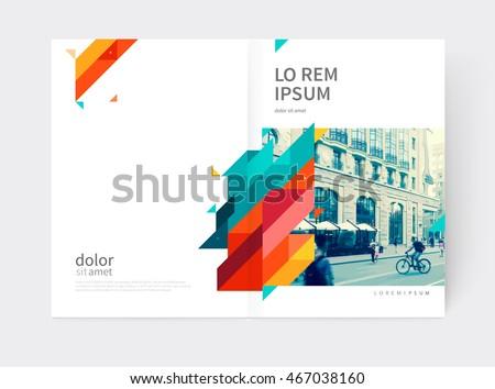 Yellow Annual Report Design Download Free Vector Art Stock