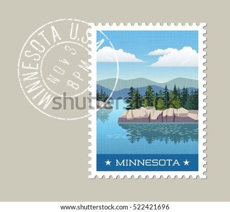 minnesota postage stamp design