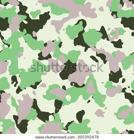 mint and vanilla seamless camo