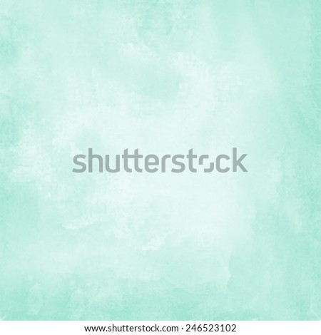 stock-vector-mint-blue-watercolor-paper-background
