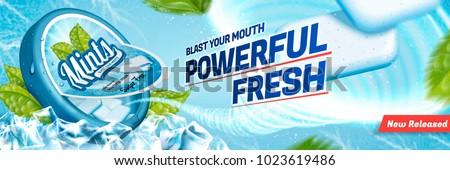 mints gum ads  freshen breath