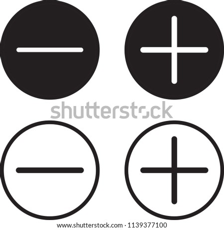 math symbols circle vector sets download free vector art stock