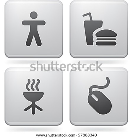 Misc Internet Icons - stock vector