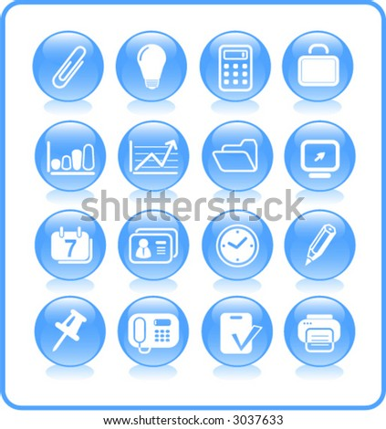 Miscellaneous office icons