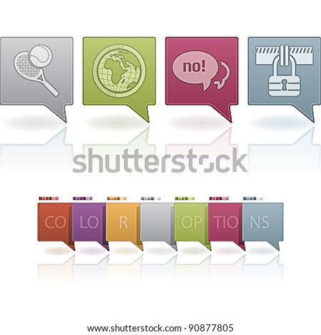 Miscellaneous Web Icons Set