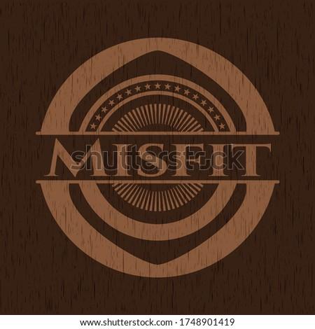 misfit realistic wooden emblem